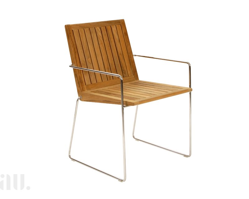 contemporary teak garden chairs