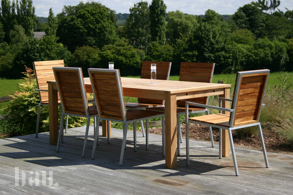 Lausanne Modern Garden Chairs Bau Outdoors