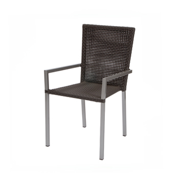 Woven Rattan Garden Chair Bau