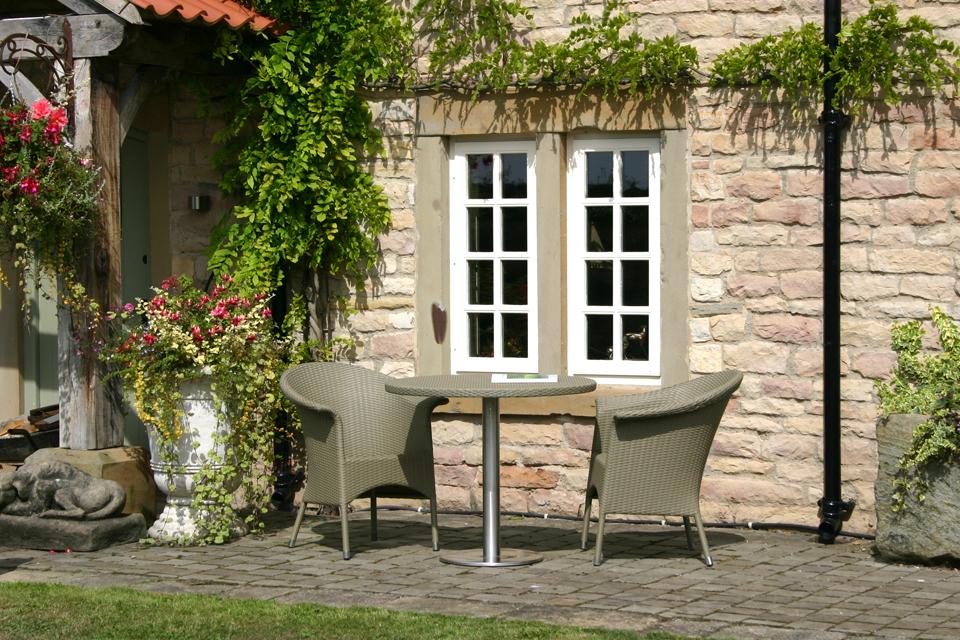 Classic Rattan Garden Armchair 4