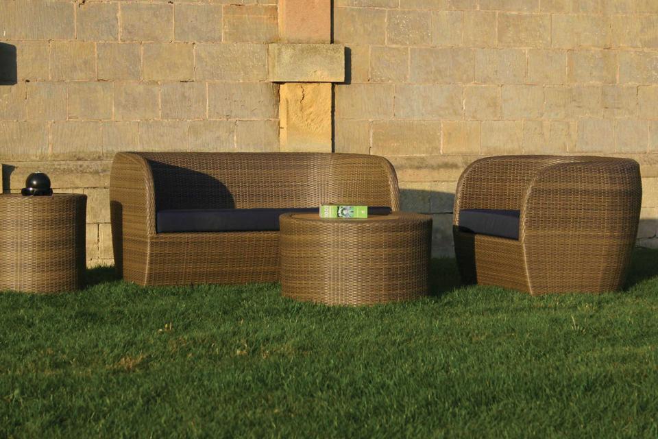 Tubby Contemporary Garden Armchair - Bau Outdoors