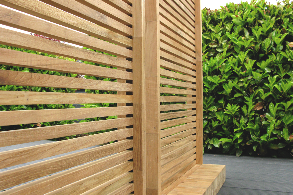 Trans Contemporary Garden Screens Bau Outdoors
