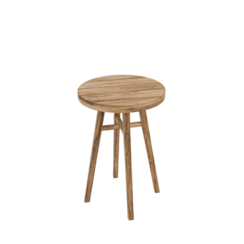 Contemporary garden table 40cm