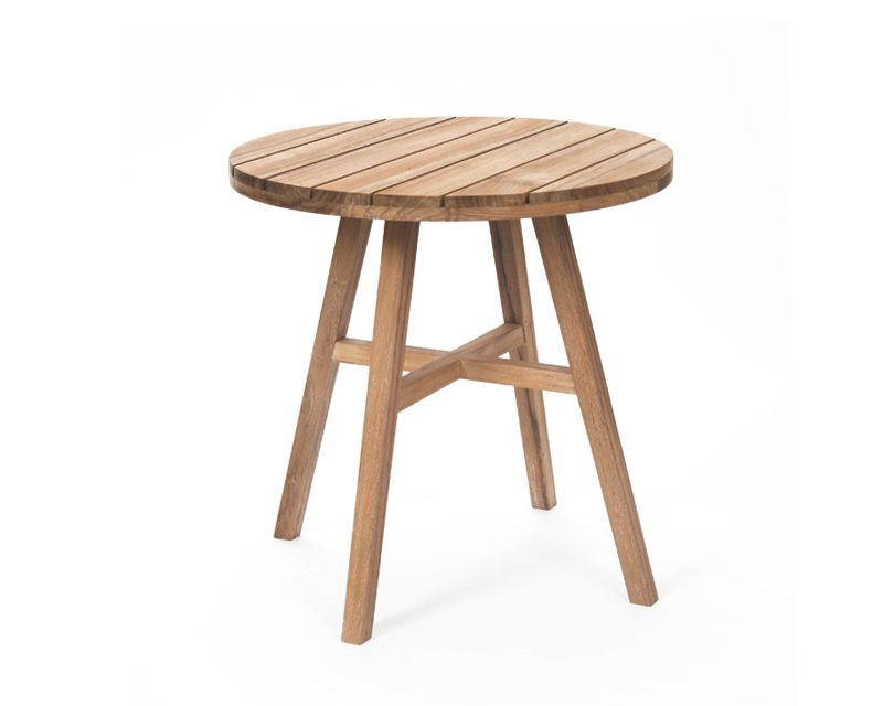 Contemporary garden table 60cm 2