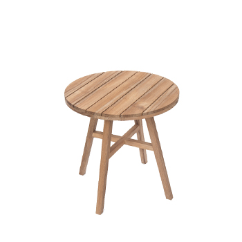 Contemporary garden table 60cm