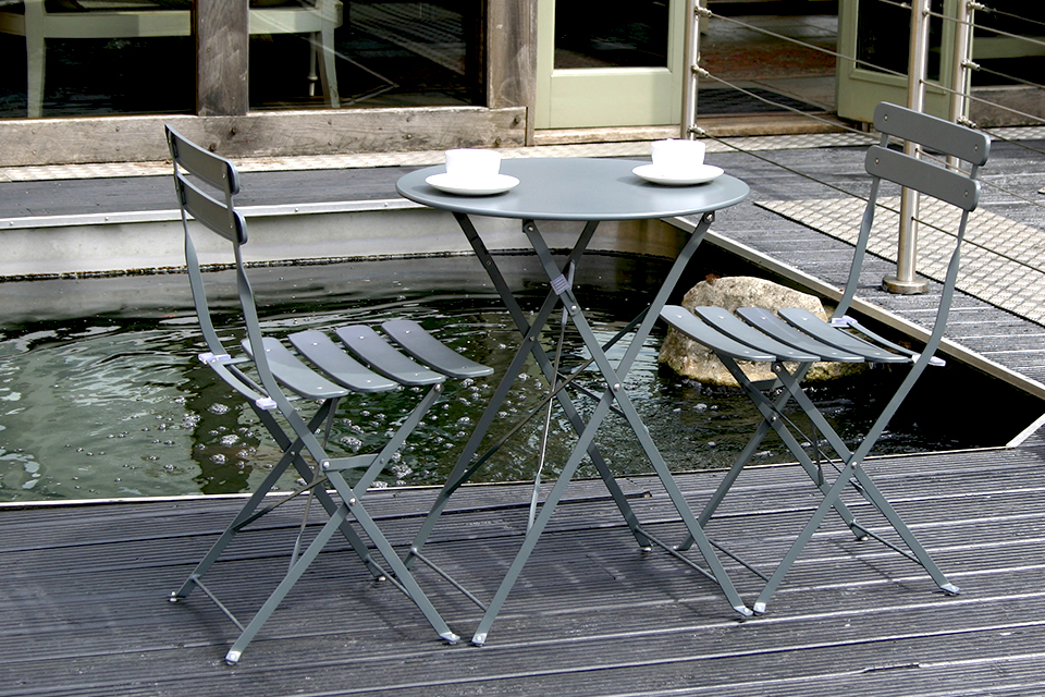 Folding Garden Furniture Set 4. Folding Garden Furniture Set   Bau Outdoors