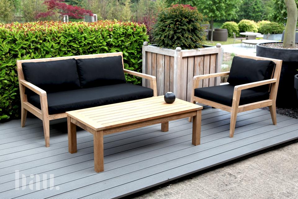 Menton Garden Armchair - Bau Outdoors