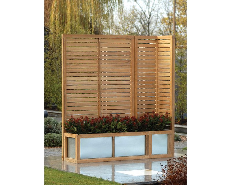 Hampstead Slatted Garden Screens 1