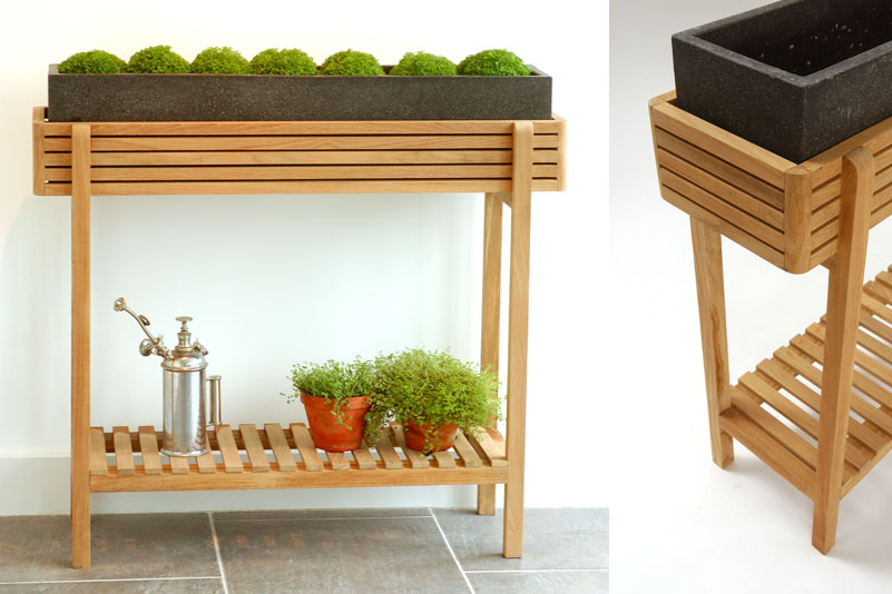 Ellie Outdoor & Indoor Plant Stand - Low - Bau Outdoors