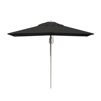 Parasol Aluminium Black