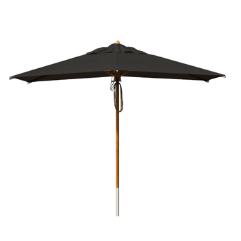 Parasol Wood Black