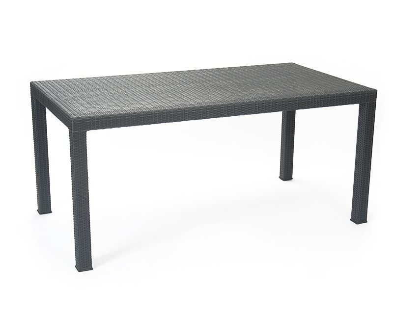 Rattan Garden Table 1
