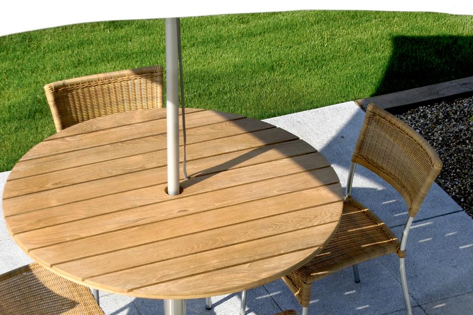 Jasper Round Garden Tables - Bau Outdoors