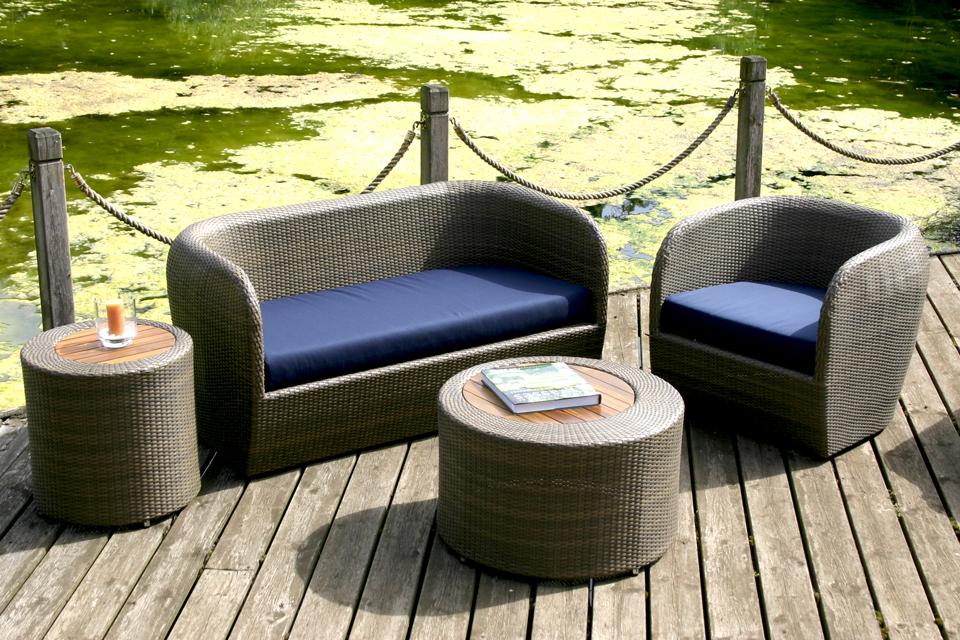 Outdoor Sofas Black Breakfast Bar Stools Resin Bahan Rotan Sofa Tradisional Outdoor Lounge