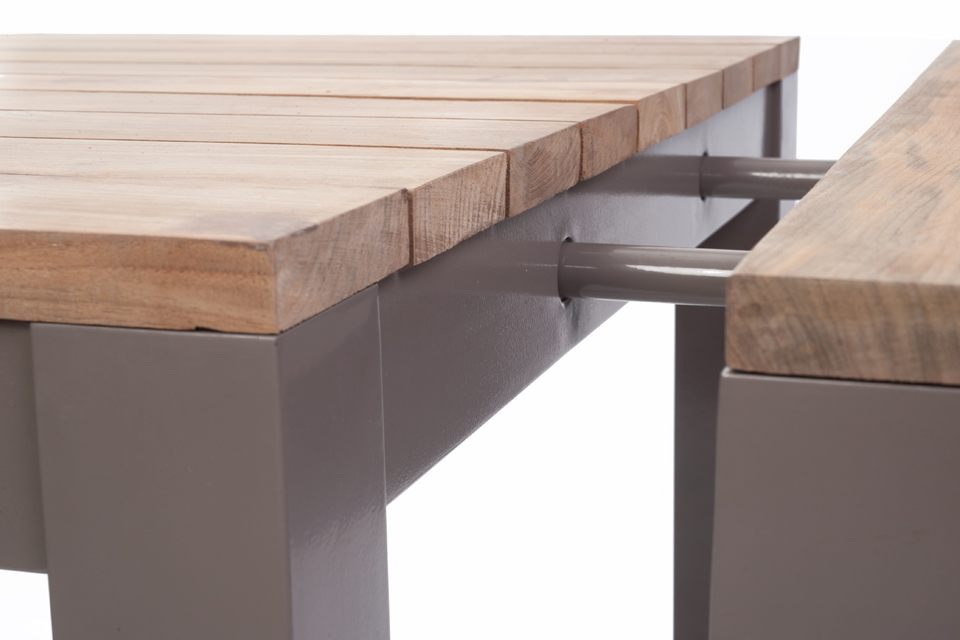 Reclaimed Table Extension Leaves Bau Outdoors