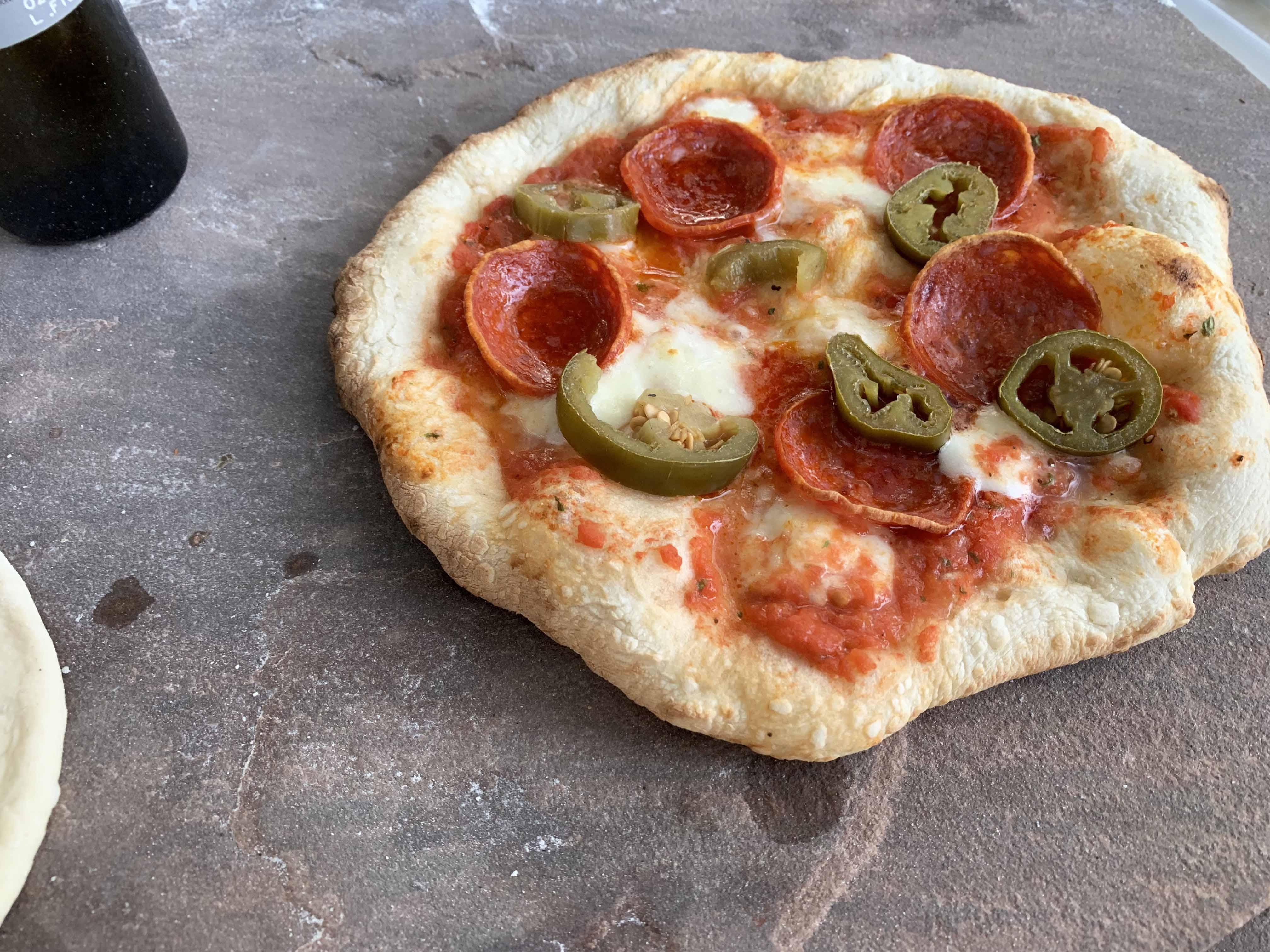 Igneus Classico Pizza Oven - Pizza 2