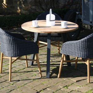Malmo garden table teak anthracite
