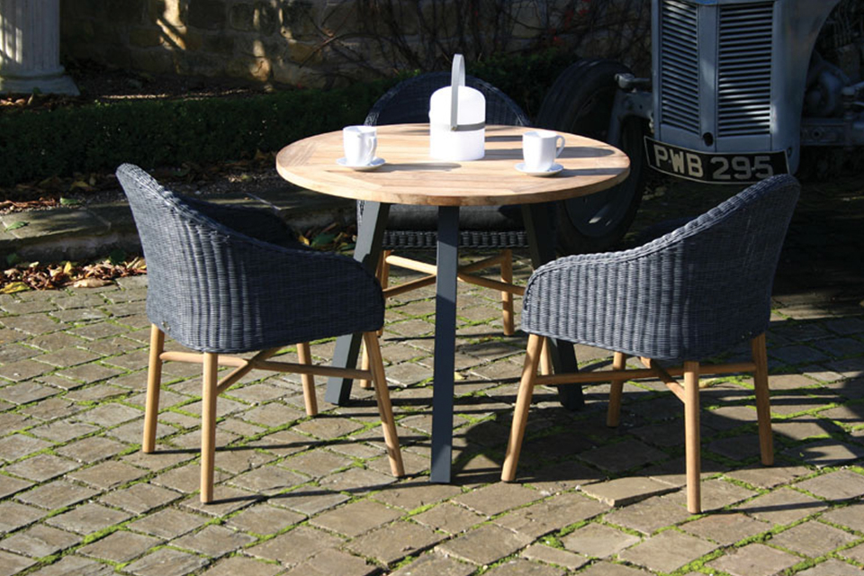 Malmo garden table teak anthracite