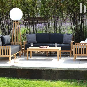 Garden sofa and armchairs